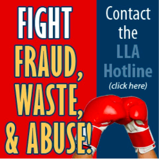 Fight Fraud, Waste & Abuse!